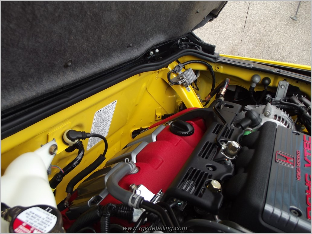 2001 Honda Nsx Engine Bay Detail Rgk Detailing Blog